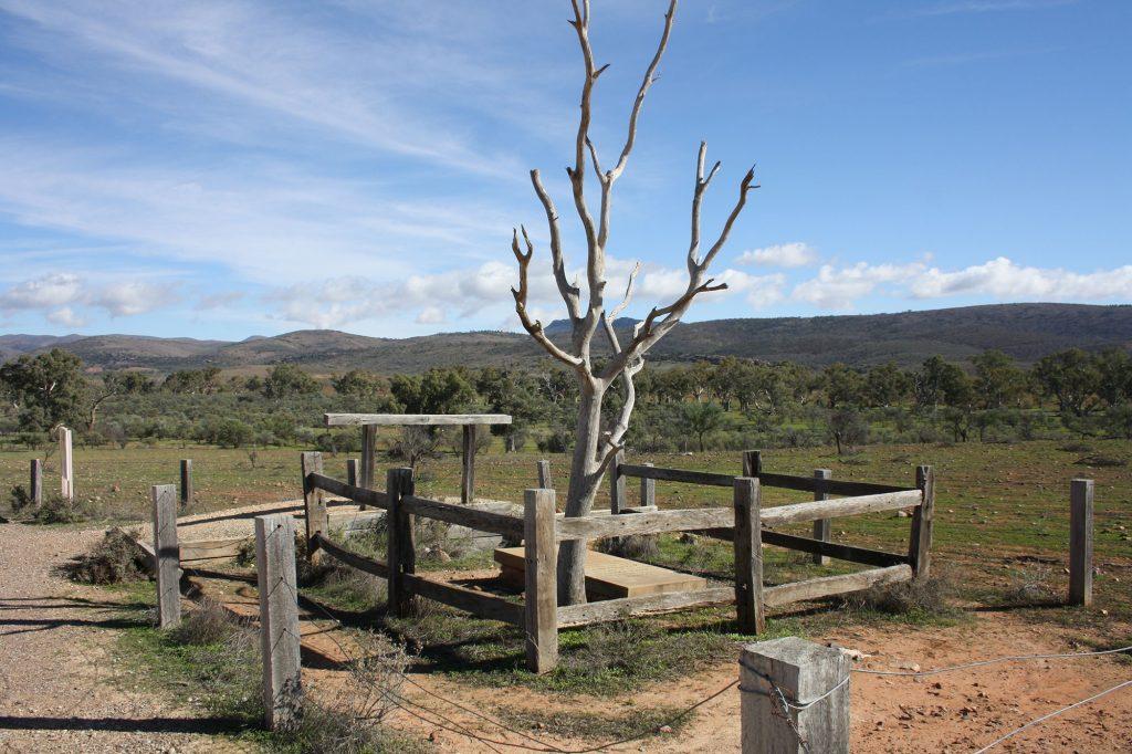 Grave-of-Hugh-Proby-(1852)-Willochra-Creek-SA---Steve-Johnston-&-Mary-Charles-(5291)